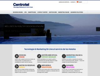 centrotel.es screenshot