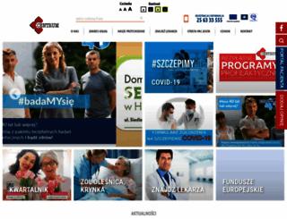 centrum.med.pl screenshot