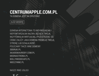 centrumapple.com.pl screenshot