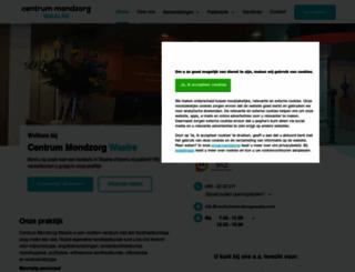 centrummondzorgwaalre.com screenshot