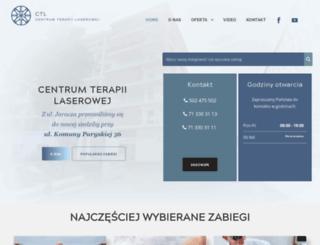 centrumterapiilaserowej.pl screenshot