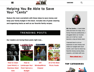 centsablemomma.com screenshot