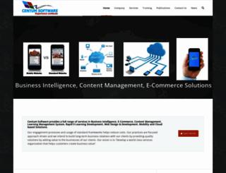 centumsoftware.com screenshot