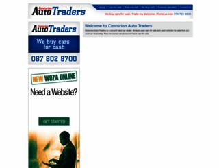 centurionautotraders.co.za screenshot