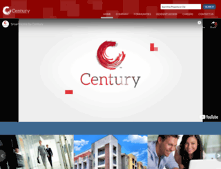 century-apartments.com screenshot