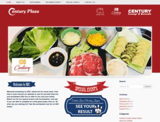 century-plaza.net screenshot