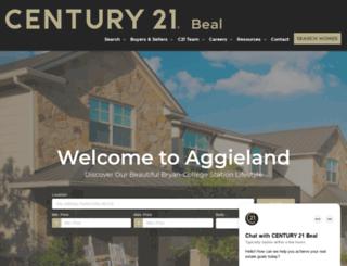 century21bcs.com screenshot