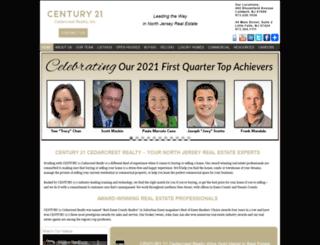 century21cedarcrest.com screenshot
