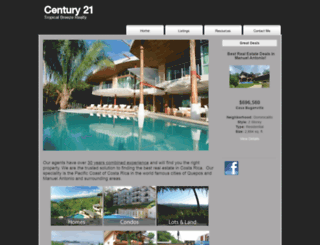century21cr.com screenshot