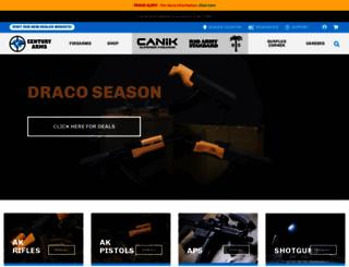 centuryarms.com screenshot