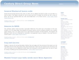 centurydirectgroupnews.com screenshot