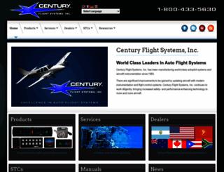 centuryflight.com screenshot