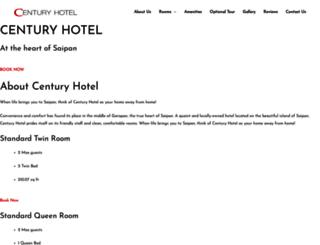 centuryhotel-spn.com screenshot