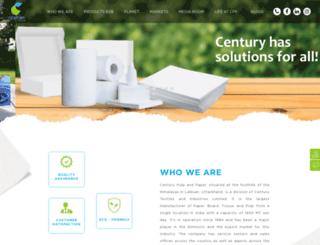 centurypaperindia.com screenshot