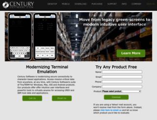 centurysoftware.com screenshot