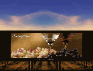 centurywine.ca screenshot