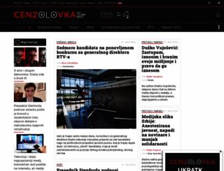 cenzolovka.rs screenshot
