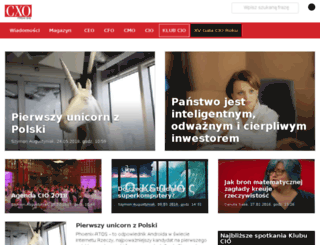 ceo.cxo.pl screenshot