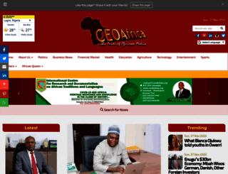 ceoafrica.com screenshot