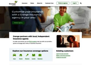 ceodb.grangeinsurance.com screenshot