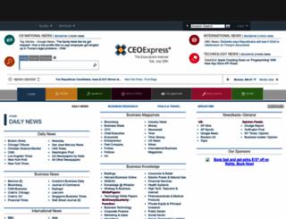ceoexpress.com screenshot