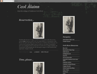 ceolalainn.blogspot.com screenshot