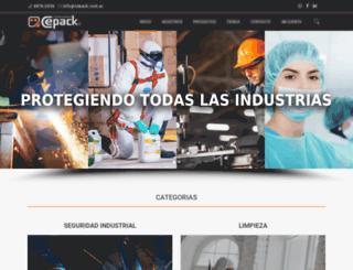 cepack.com.ar screenshot