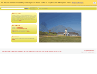 cephas.co.uk screenshot