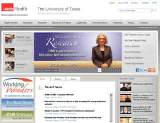 cephbase.utmb.edu screenshot