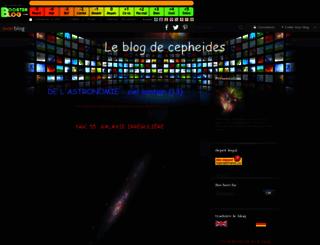 cepheides2.boosterblog.com screenshot