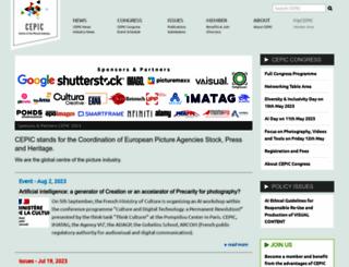 cepic.org screenshot