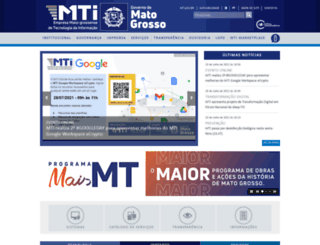 cepromat.mt.gov.br screenshot
