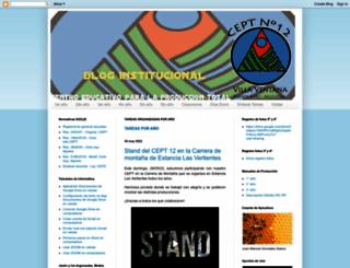 cept12ventana.blogspot.com.ar screenshot