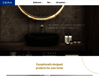 cera-india.com screenshot