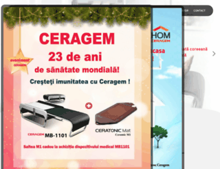 ceragem.ro screenshot