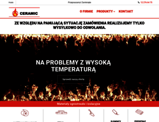 ceramic.com.pl screenshot