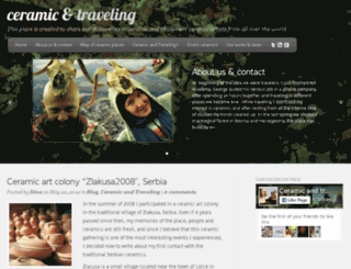 ceramicandtraveling.com screenshot
