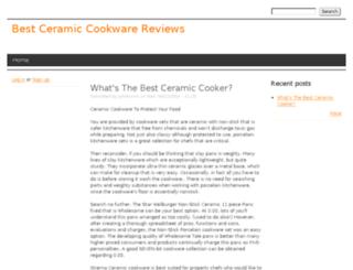 ceramiccookwarehub.drupalgardens.com screenshot
