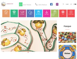 ceramichedivietri.com screenshot
