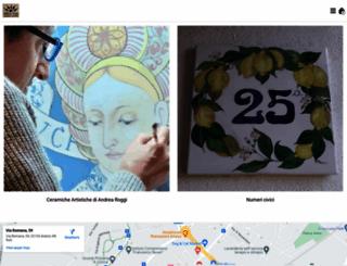 ceramicheroggi.com screenshot