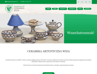 ceramikawiza.com screenshot