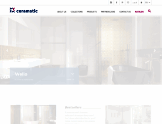 ceramstic.com.pl screenshot