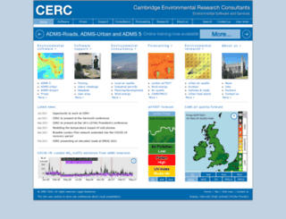 cerc.co.uk screenshot