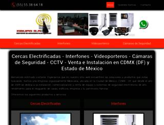 cercaselectrificadasinterfonesyvideoporteros.com.mx screenshot