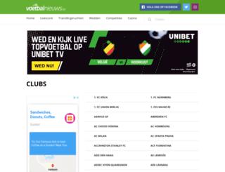 cercle-brugge.voetbalnieuws.be screenshot