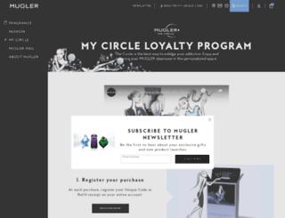 cercle.mugler.com screenshot