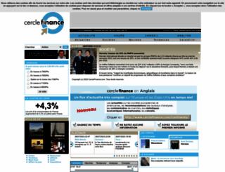 cerclefinance.com screenshot
