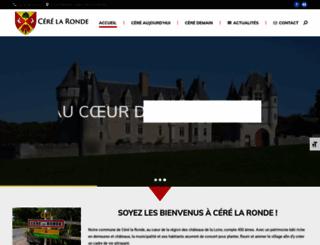cere-la-ronde.fr screenshot