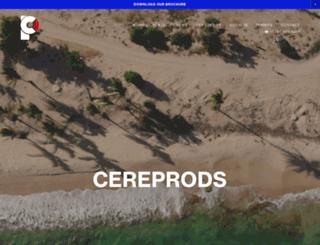 cereprods.squarespace.com screenshot