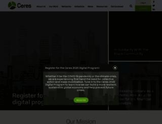 ceres.org screenshot